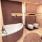 Акриловая ванна Excellent Glamour 1405x1405 + ножки 2