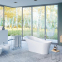 Акриловая ванна Excellent Mirage + 1800x700/800 + ножки 2