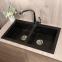 Мойка кухонная Fancy Marble Westeros светло-черная 111080004 1