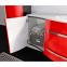 Комплект мебели Botticelli для ванной комнаты: тумба с умывальником Vanessa 110 красная, пенал и зеркало 0