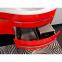 Комплект мебели Botticelli для ванной комнаты: тумба с умывальником Vanessa 110 красная, пенал и зеркало 2