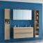 Комплект мебели для ванной комнаты под заказ (Тумба с умывальником, два пенала и зеркальный шкафчик) 0