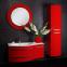 Тумба с умывальником Botticelli Vanessa Vndl-110 красная левая 0