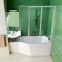 Акриловая ванна Ravak BeHappy правая 160 (C971000000) 2