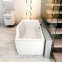 Акриловая ванна Ravak Magnolia 170 (C501000000) 4