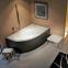 Акриловая ванна Riho Lyra L 153x100 BA68 + ножки 0