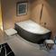 Акриловая ванна Riho Lyra R 153x100 BA68 + ножки 0
