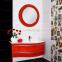 Зеркало на основе Botticelli Vanessa VnM-80 красное 1