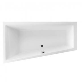 Акриловая ванна Excellent M-Sfera Slim 1600x950 левая + ножки