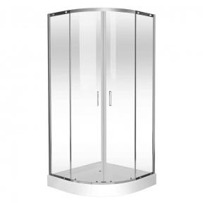 Душевая кабина Eger Tokai 90х90х200 см, профиль хром, стекло прозрачное на мелком поддоне 599-07