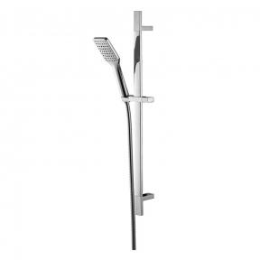 Душевой гарнитур 6607001 штанга душевая L-66см, ручной душ 1 режим,шланг 1,5м,блистер