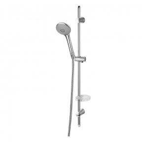 Душевой гарнитур 7212003 штанга душевая Vaclav L-72см,мыльница,ручной душ 3 режима,шланг 1,5м с вращающимся конусом (Anti-Twist),блист.