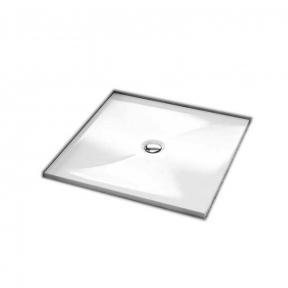 Душевой поддон квадратный мелкий 201-06937