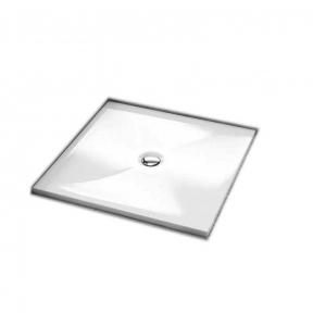 Душевой поддон квадратный мелкий 201-06938