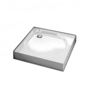 Душевой поддон квадратный с панелью 201-06911