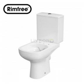 Компакт 575 Colour Rimfree 011 3/5 с сиденьем из дюропласта Soft Close