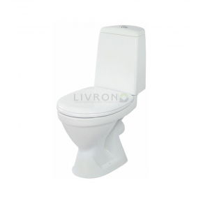 Компакт Arktik New 011 3/6 с бачком и сиденьем полипропилен