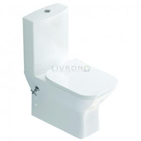 Компакт напольный с функцией биде, вентилем и сиденьем slow-closing Idevit Nova SETK3504-0317-001-1-6200