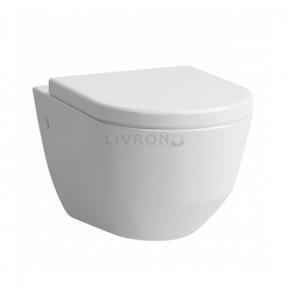 Унитаз подвесной Laufen Pro Rimfree без ободка (H8209640000001) с сиденьем Soft Close