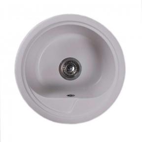 Мойка кухонная Fancy Marble Nevada белая 104040001