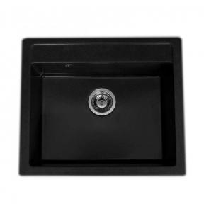 Мойка кухонная Fancy Marble Oregon светло-черная 108060004