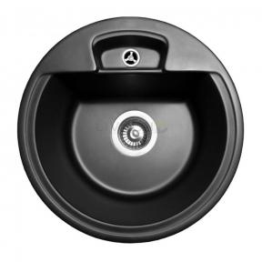 Мойка кухонная Miraggio Valencia светло-черная 108040004