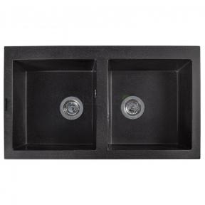 Мойка кухонная Fancy Marble Westeros светло-черная 111080004