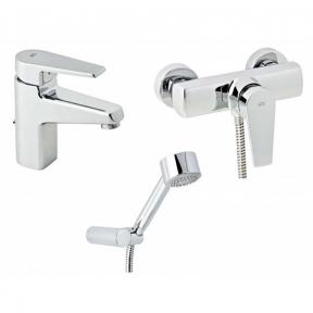 Набор смесителей для душа без штанги Genebre Klip 03KL-shower