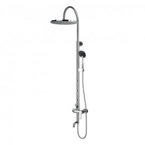 Душевая система Nahoru T-10500 (смеситель для ванны, верхний и ручной душ, 4 режима, шланг 1,5м)