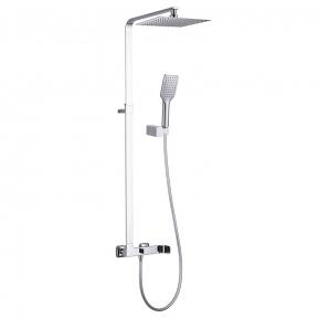 Душевая система Odlove T-15300 (смеситель для душа, верхний и ручной душ, держатель,шланг полим. 1,5м)
