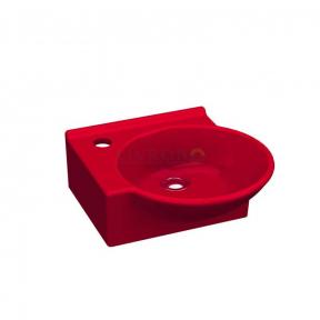 Раковина (умывальник) Idevit Myra Mini 36 см красный, левый/правый 0201-0367-08/0201-0365-08