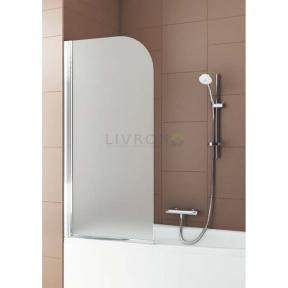 Душевая шторка на ванну полукруглая 170-07010