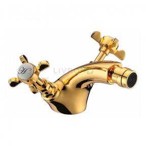Смеситель для биде Imprese Cuthna 40280 zlato