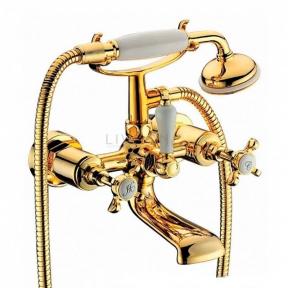 Смеситель для ванны Imprese Cuthna 10280 zlato