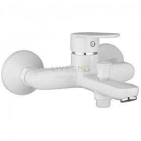 Смеситель для ванны Imprese Laska 10040W белый