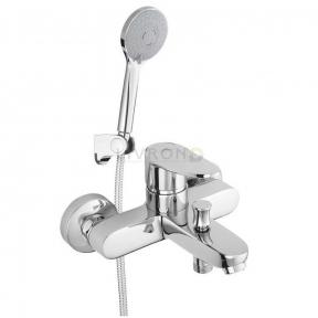 Смеситель для ванны с ручным душем Rubineta Static-10/K A10A08