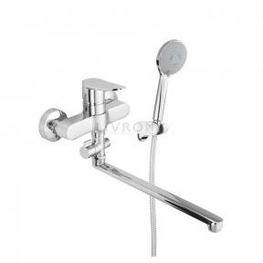 Смеситель для ванны с ручным душем Rubineta Static-12/C A2CA08