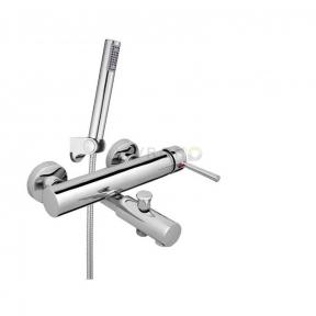 Смеситель для ванны с ручным душем Rubineta Ultra-10/K U10K08