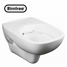 Унитаз подвесной Style Rimfree L23120000 без сиденья