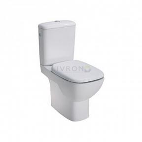 Компакт напольный Traffic Rimfree с нижним подводом воды (пол) L99021000 с сиденьем
