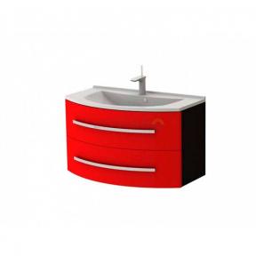 Тумба с умывальником Botticelli Vanessa Vn-90 Красная