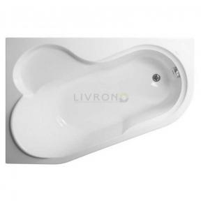 Акриловая ванна Vagnerplast Selena 147 L/левая VPBA141SEL3LE-01/NO + ножки