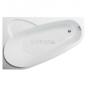 Акриловая ванна Vagnerplast Selena 160 левая VPBA163SEL3LX-01/NO + ножки
