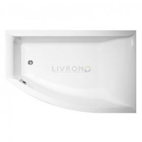 Акриловая ванна Vagnerplast Veronella 160 OFFSET правая VPBA160VEA3PX-01/NO + ножки