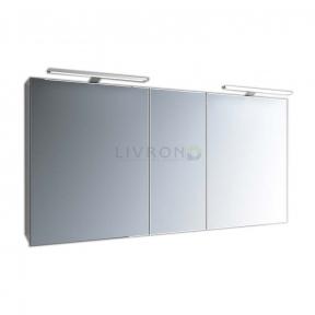 Зеркальный шкафчик Marsan Therese-5 с диодной подсветкой 1300х650