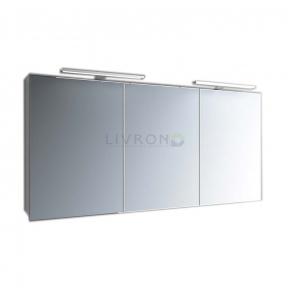 Зеркальный шкафчик Marsan Therese-6 с диодной подсветкой 1400х650