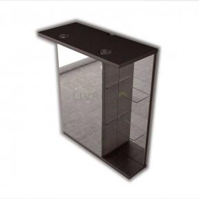 Зеркальный шкафчик Fancy Marble МС-8 ШЗ-8 венге