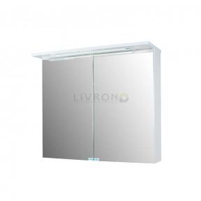 Зеркальный шкафчик Fancy Marble ШЗ-10 белый