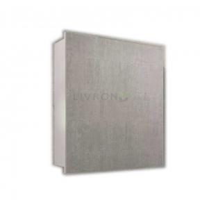 Зеркальный шкафчик Fancy Marble ШЗ-700 (MC-700) белый