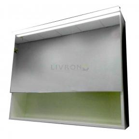 Зеркальный шкафчик Fancy Marble с диодной подсветкой MC-Okinava 700